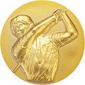 樹脂メダル_ゴルフ