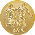樹脂メダル_サッカー