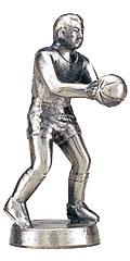 バスケットボールブロンズ人形