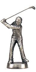ゴルフブロンズ人形