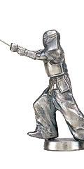 剣道ブロンズ人形